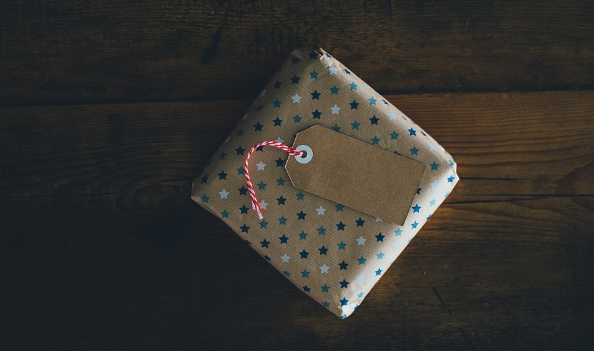 balík s hvězdami