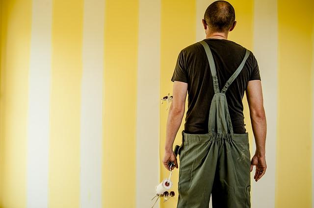 Vymalujte si na stěnu pruhy a proužky