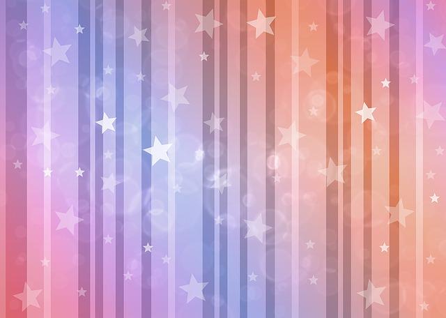 hvězdičková tapeta
