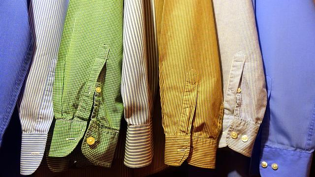 rukávy košilí