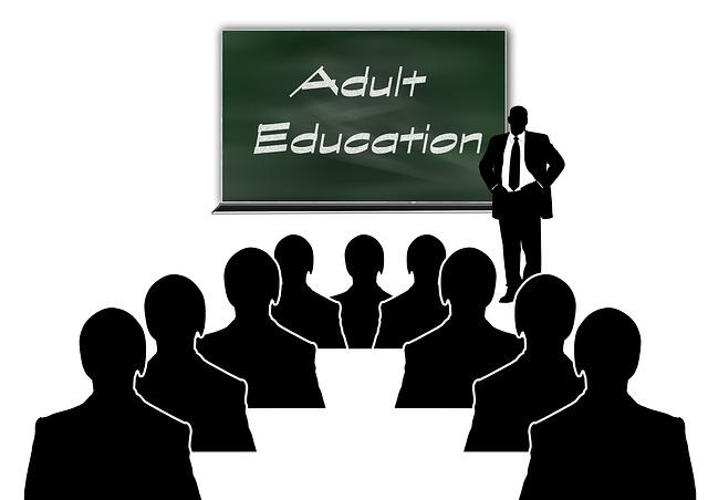 vzdělávání dospělých